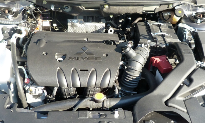 Lancer Reviews: Mitsubishi Lancer GT engine