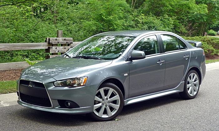 Lancer Reviews: Mitsubishi Lancer GT front quarter