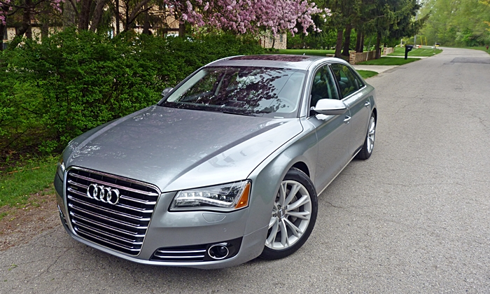 Audi A8 / S8 Photos: Audi A8 L front angle high