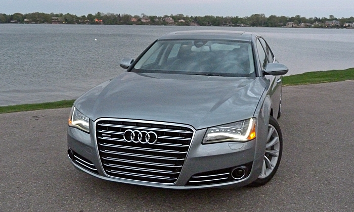 Audi A8 / S8 Photos: Audi A8 L front end