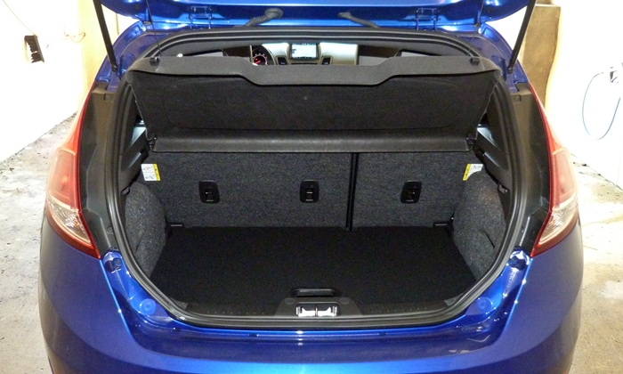 Fiesta Reviews: 2014 Ford Fiesta ST cargo area