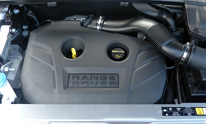 Range Rover Evoque Reviews: Range Rover Evoque engine