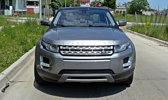 Range Rover Evoque Reviews: Range Rover Evoque front view