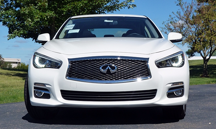 Q50 Reviews: Infiniti Q50 front view