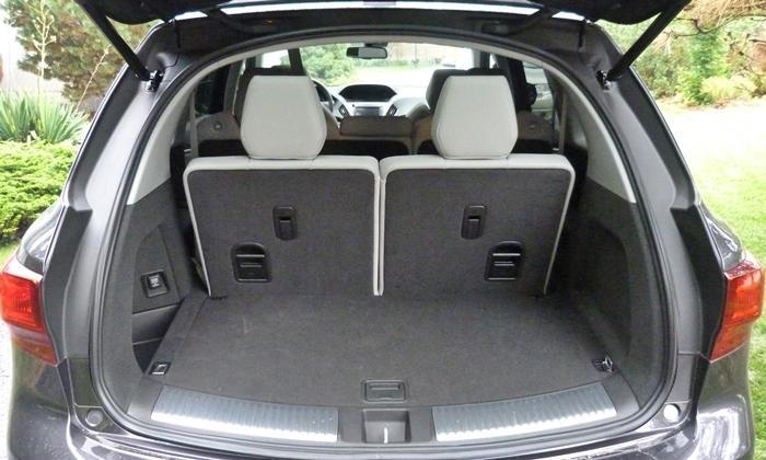 Mdx Cargo Space >> Acura Mdx Photos Truedelta Car Reviews