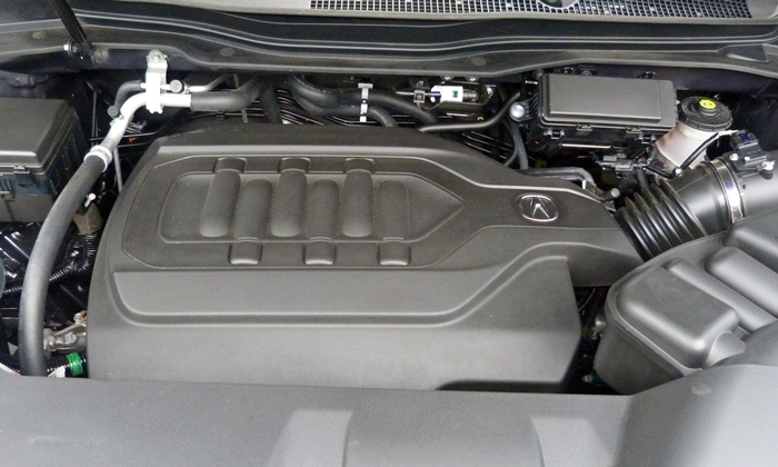 MDX Reviews: 2014 Acura MDX engine