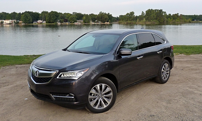 MDX Reviews: 2014 Acura MDX front angle