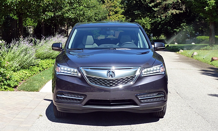Acura MDX Photos: 2014 Acura MDX front view