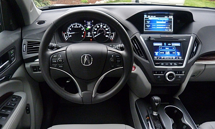 MDX Reviews: 2014 Acura MDX instrument panel