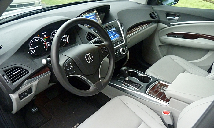 MDX Reviews: 2014 Acura MDX interior