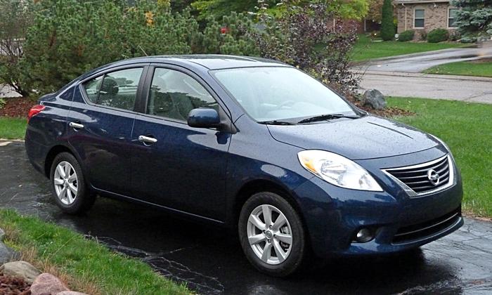 Nissan 2014 Versa Sedan
