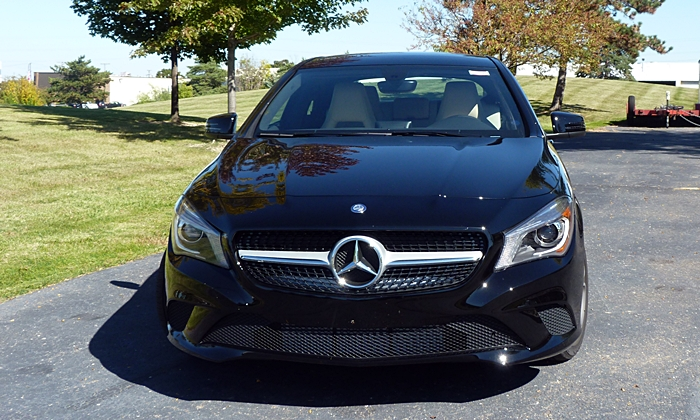 CLA Reviews: Mercedes-Benz CLA250 front view