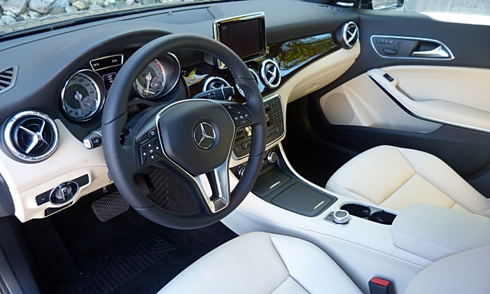 CLA Reviews: Mercedes Benz CLA250 Interior