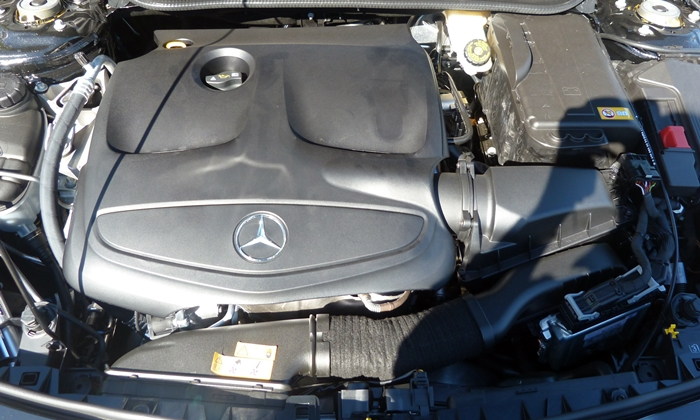 CLA Reviews: Mercedes-Benz CLA250 engine