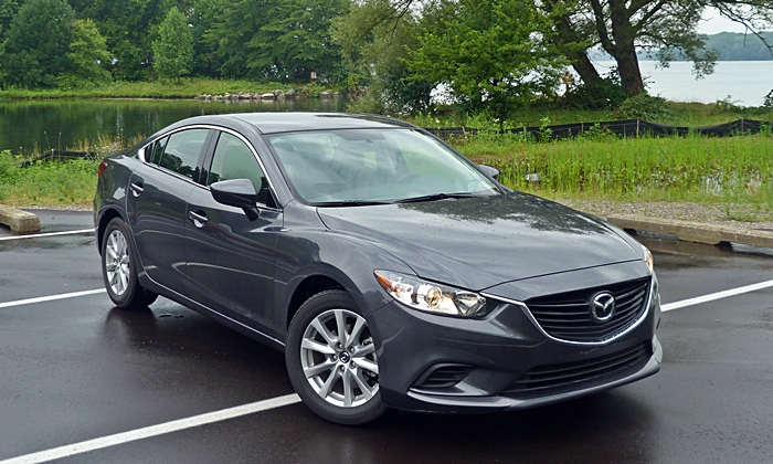Mazda6 Reviews: Mazda6 Sport front angle high