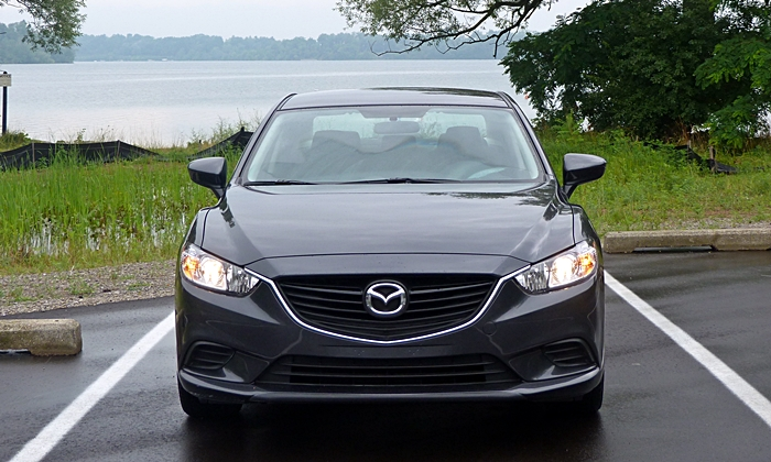 Mazda6 Reviews: Mazda6 Sport front view