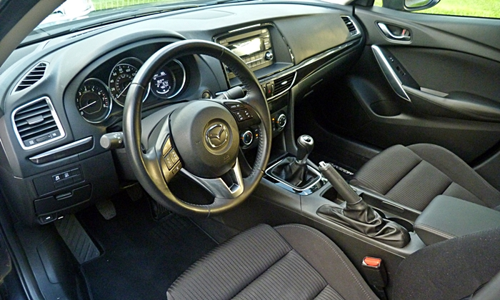 Mazda6 Reviews: Mazda6 Sport interior