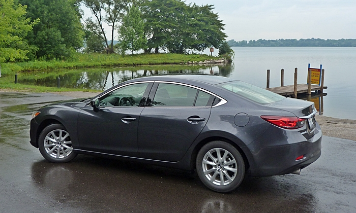 Mazda6 Reviews: Mazda6 Sport rear quarter view