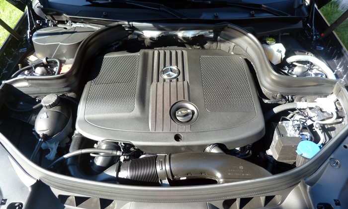 GLK-Class Reviews: Mercedes-Benz GLK250 BlueTEC engine