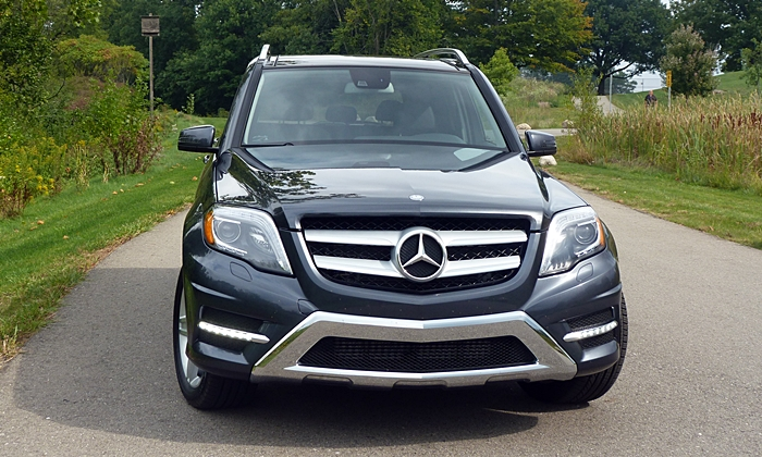 GLK-Class Reviews: Mercedes-Benz GLK250 BlueTEC front view