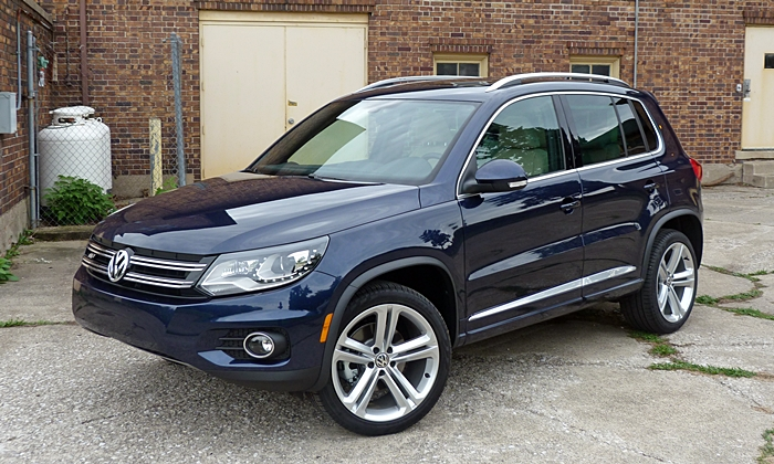 2014 volkswagen tiguan pros and cons at truedelta 2014 volkswagen tiguan r line review by. Black Bedroom Furniture Sets. Home Design Ideas