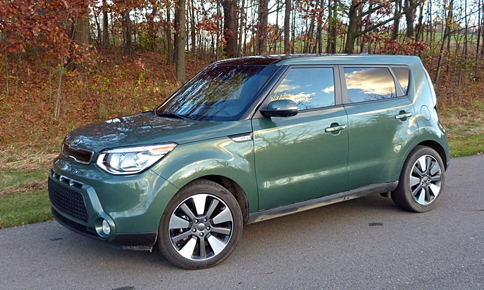 Kia Soul Photos: 2014 Kia Soul front quarter view