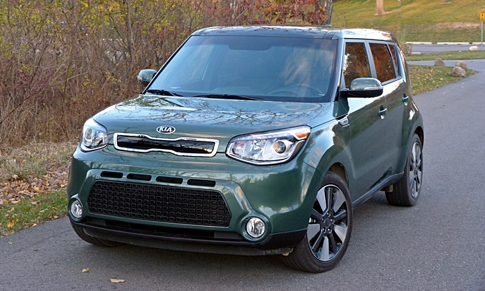 Kia Soul Photos: 2014 Kia Soul front view
