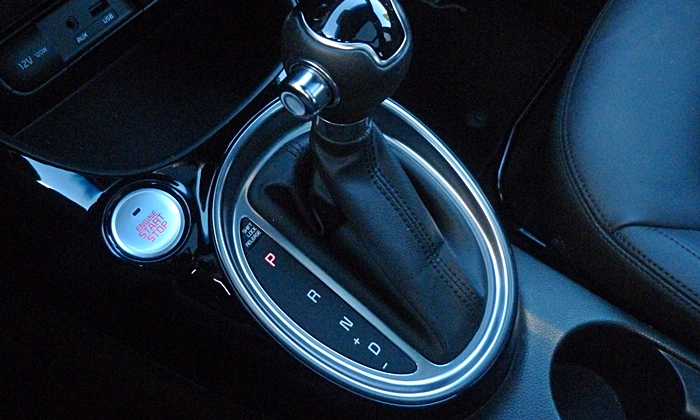 Kia Soul Photos: 2014 Kia Soul shifter