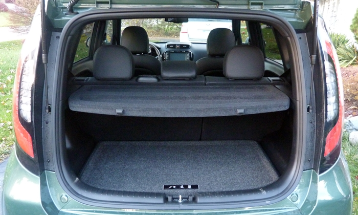 Kia Soul Photos: 2014 Kia Soul cargo area