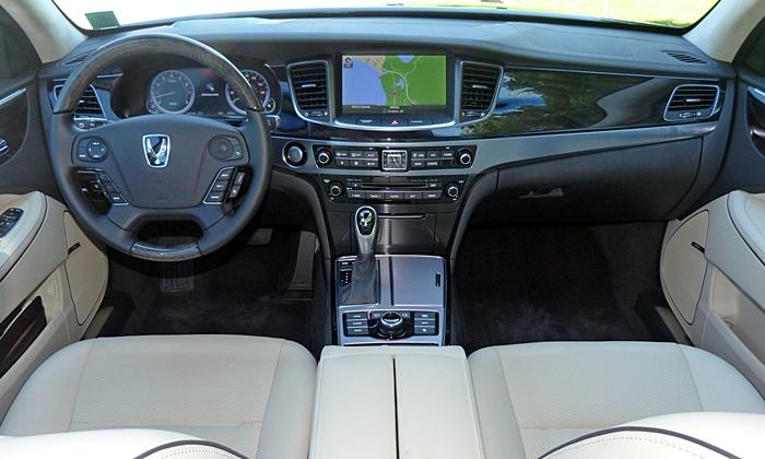 Hyundai Equus Photos 2014 Hyundai Equus Instrument Panel