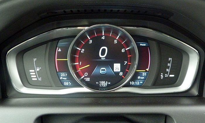Volvo Xc60 Photos Instruments Performance Theme