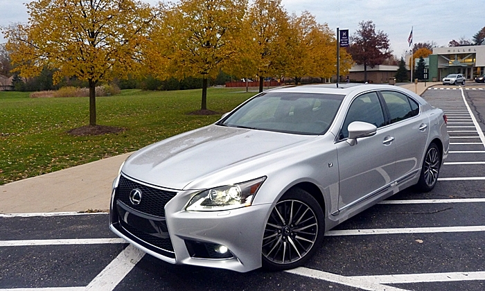 lexus ls photos ls 460 f sport front angle high. Black Bedroom Furniture Sets. Home Design Ideas