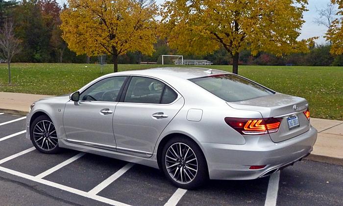 LS Reviews: LS 460 F Sport Rear Quarter