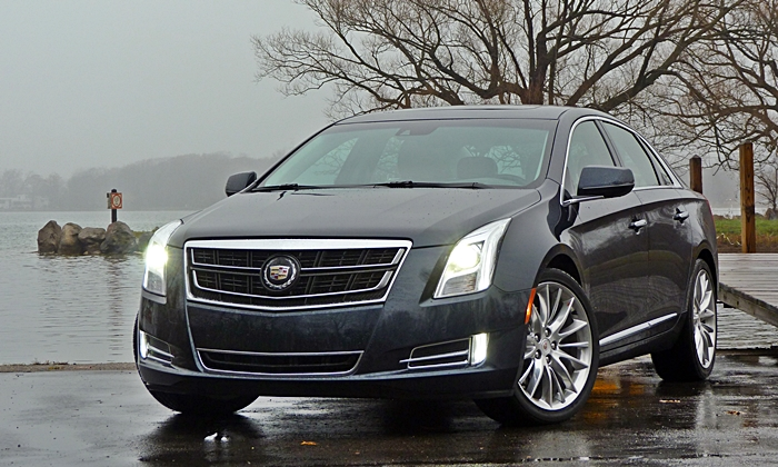 XTS Reviews: Cadillac XTS Vsport front