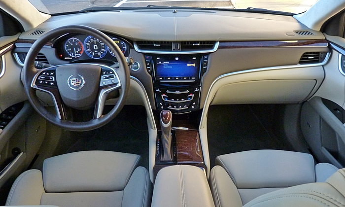Cadillac XTS Photos: Cadillac XTS Vsport instrument panel full