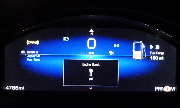 Cadillac XTS Photos: Cadillac XTS Vsport instruments basic mode
