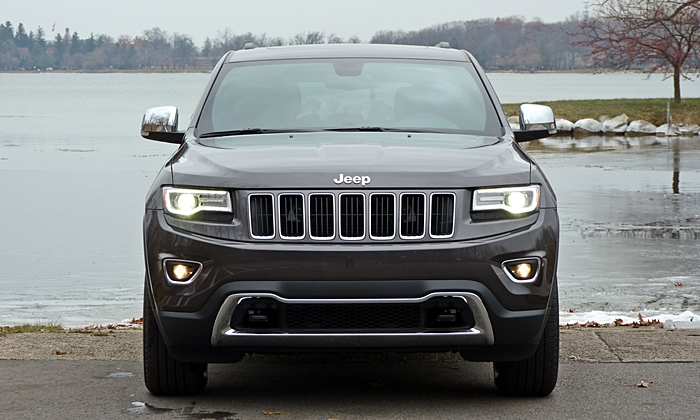 Grand Cherokee Reviews: Jeep Grand Cherokee Limited Front View