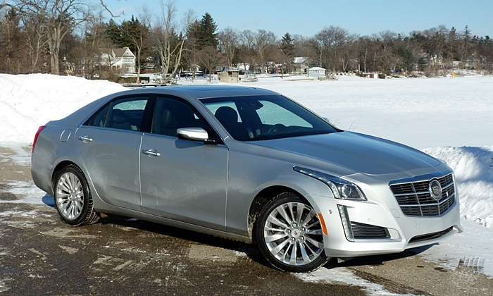 CTS Reviews: Cadillac CTS front quarter view