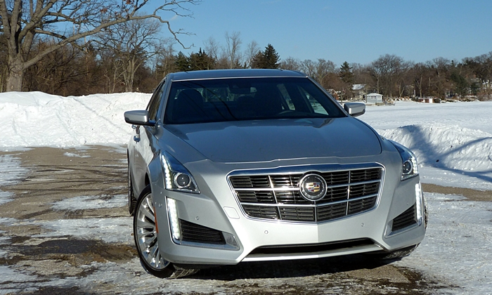 CTS Reviews: Cadillac CTS front view