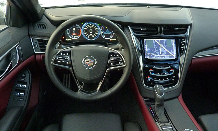 CTS Reviews: Cadillac CTS instrument panel