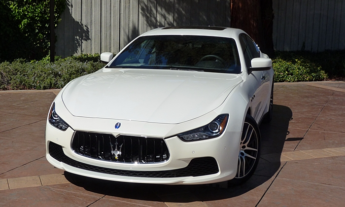 Ghibli Reviews: Maserati Ghibli front view