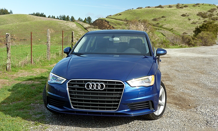 A3 Reviews: Audi A3 front view