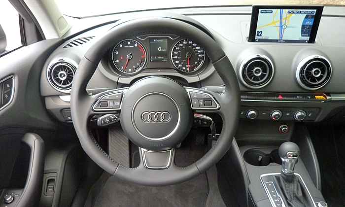 A3 Reviews: Audi A3 instrument panel