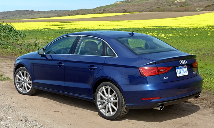 A3 Reviews: Audi A3 rear quarter