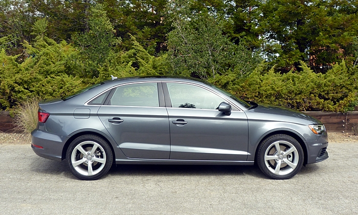 Audi A3 / S3 Photos: Audi A3 side view gray with 17s