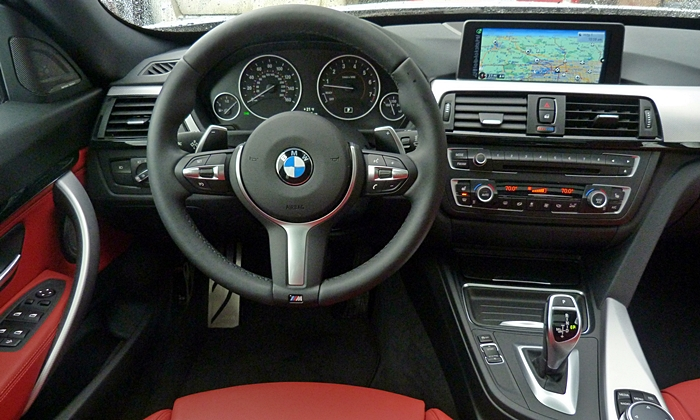 3-Series Gran Turismo Reviews: BMW 335i Gran Turismo instrument panel