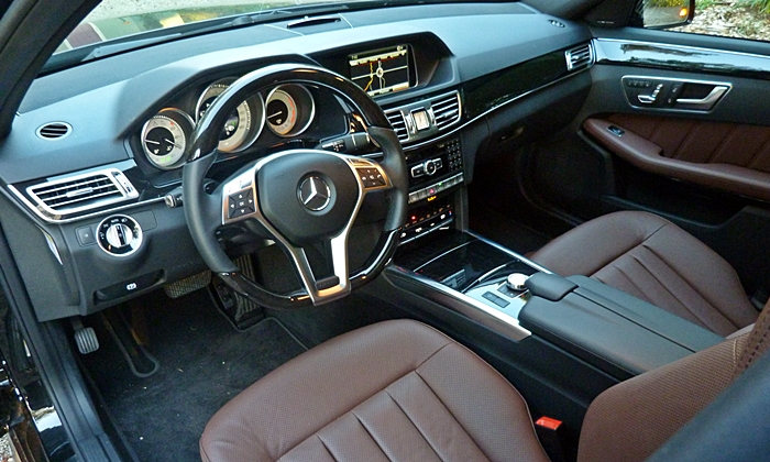 BMW 3-Series Photos: Mercedes-Benz E250 interior