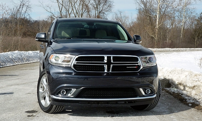 Durango Reviews: Dodge Durango Limited front view