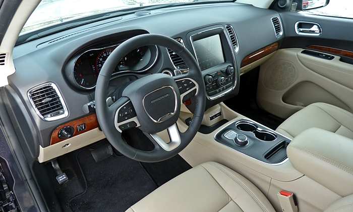 Durango Reviews: Dodge Durango Limited interior