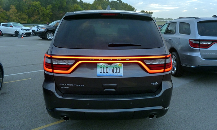 Dodge Durango Photos Dodge Durango R T Tail Lights